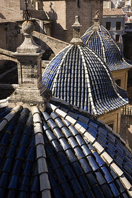 Cathedral Valencia Side Domes Art Print