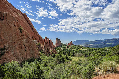 Cathedral Valley Photograph - Cathedral Valley by Charles Dobbs