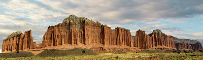 Photograph -  Cathedral Valley Wall by Gary Warnimont