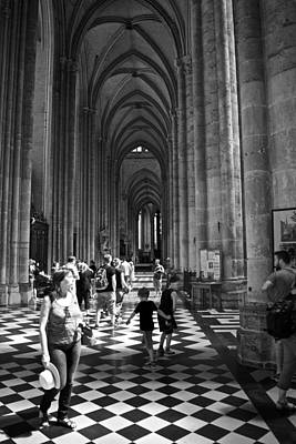 Photograph - Cathedral Visit by Eric Tressler