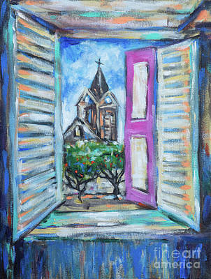 Painting - Cathedral Window by Linda Olsen