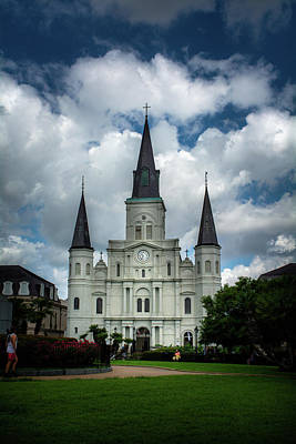 Dramatic Photograph - Cathedral With Clouds by Greg Mimbs