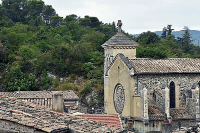 Photograph - Cathedrale Saint-vincent by Harvey Barrison