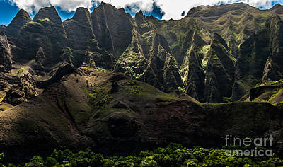 Cathedrals Na Pali Coast #2 Art Print