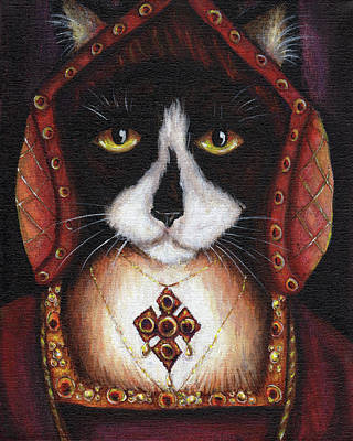 Painting - Catherine Of Aragon by Tara Fly