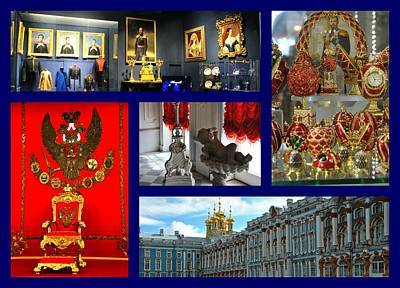 Photograph - Catherine Palace by Jacqueline M Lewis