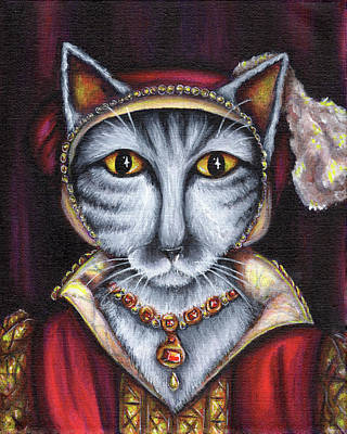 Painting - Catherine Parr by Tara Fly