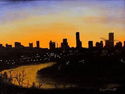 Catherine's Sunrise Art Print by Jack Skinner