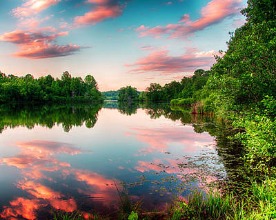 Photograph - Cathey's Reflection by Kevin Senter