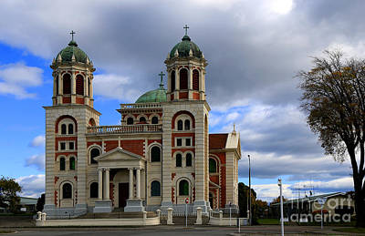 Photograph - Catholic Basilica Timaru by Nareeta Martin