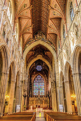 Photograph - Catholic Cathedral Of Armagh by Elvis Vaughn