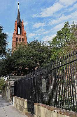 Photograph - Catholic Cathedral Of St. John The Babtist, Sc by Skip Willits