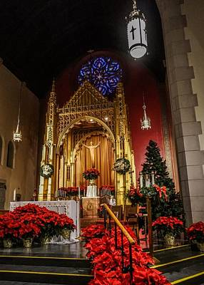 Photograph - Catholic Christmas by Kendall McKernon