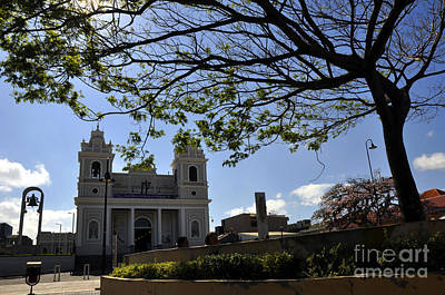 Photograph - Catholic Church Of San Jose by Andrew Dinh