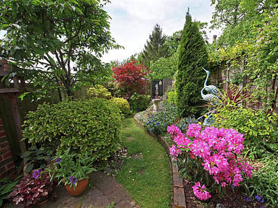 Photograph - Cathy's Garden - A Little Slice Of England by Gill Billington