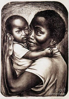 Art Lithographs Photograph - Catlett: Mother, 1959 by Granger