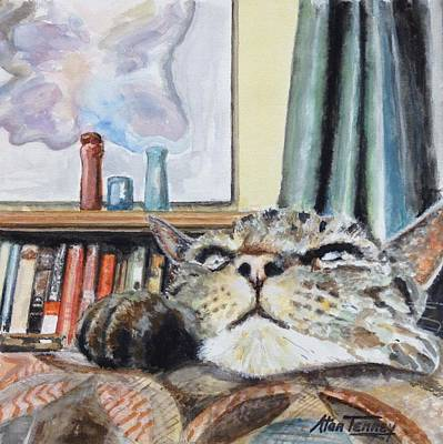 Painting - Catnip by Stan Tenney