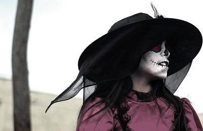 Dia De Los Muertos Photograph - Catrina Girl, Oaxaca-2014 by Todd Fox