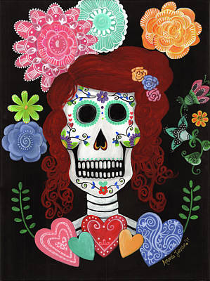 Painting - Catrina's Garden by Amanda Johnson