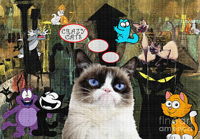 Cats Original by Daniela Constantinescu