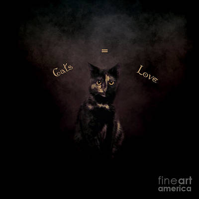 Photograph - Cats Equal Love by Renee Trenholm