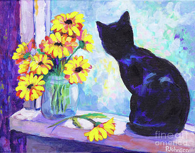 Painting - Cat's Eye View By Peggy Johnson by Peggy Johnson