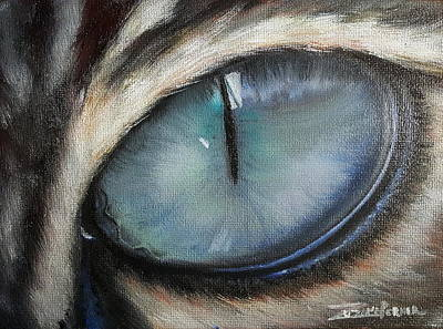 Painting - Cat's Eye by Zuzana Perner