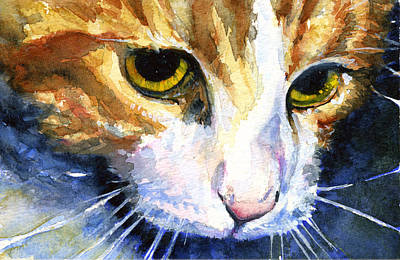 John Benson Painting - Cats Eyes 12 by John D Benson