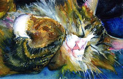 John Benson Painting - Cats Eyes 14 by John D Benson