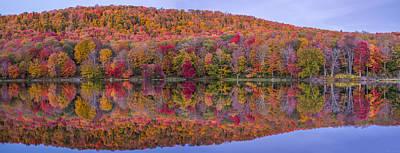 Art Print featuring the photograph Catskill Panorama 2 by Mark Papke