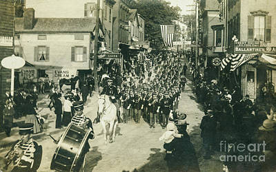 Photograph - Catskill Parade - Hudson Fulton Celebration 1909 by Joe Santacroce
