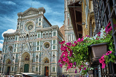 Photograph - Cattedrale Di Santa Maria Del Fiore by Fine Art Photography Prints By Eduardo Accorinti