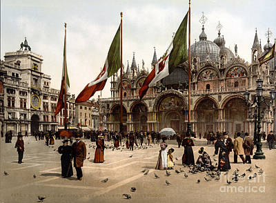 St. Marks Basilica Photograph - Cattedrale Patriarcale Di San Marco by Science Source