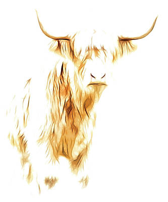 Photograph - Cattle Art by Steve McKinzie