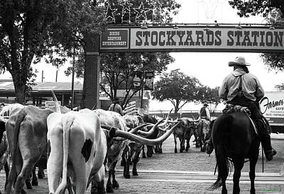 Photograph - Stockyards Station by Roberta Byram