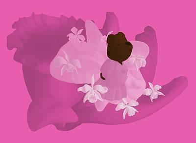 Cattleya Art Print by Jason Sharpe