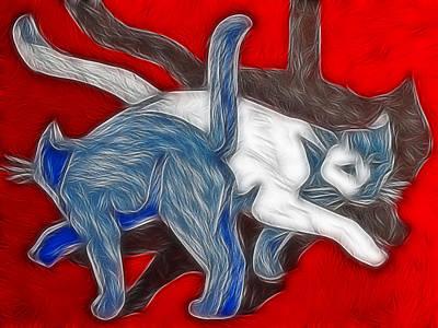 Catwalk Art Print by Joachim G Pinkawa