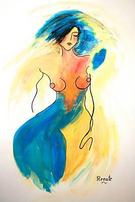 Painting - Catwalk by Renate Dartois