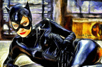 Code Digital Art - Catwoman Returns - Da by Leonardo Digenio