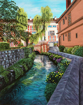 Painting - Caudebec-en-caux by Alice Betsy Stone