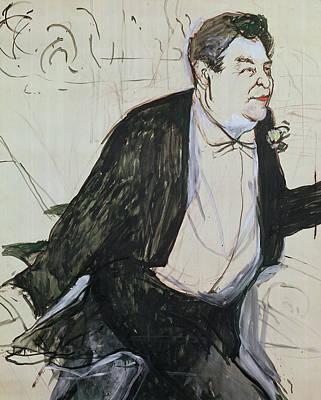 Caudieux Art Print by Henri de Toulouse-Lautrec