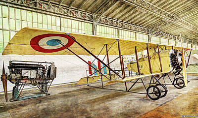 Photograph - Caudron G3 - Vintage by Weston Westmoreland