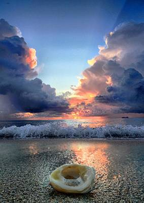 Photograph - Caught Between Storms by Andrew Royston