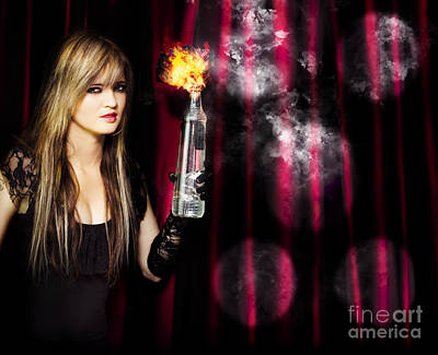 Caught In The Act Of Setting The Stage On Fire Art Print by Jorgo Photography - Wall Art Gallery
