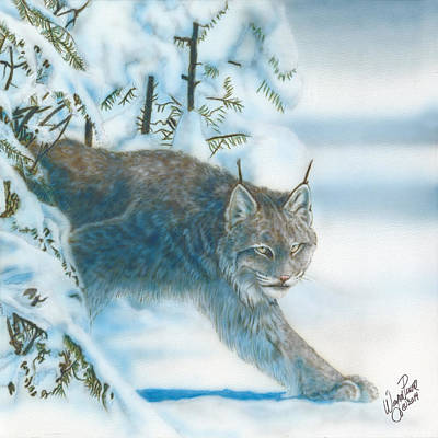 Dakota Painting - Caught In The Open by Wayne Pruse