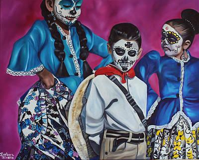 Mexicano Painting - Caught My Eye  by Barbara  Rivera