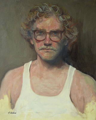 Painting - Caught With His Eyes Open by Robert Holden