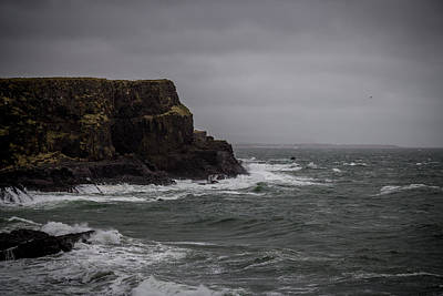 Photograph - Causeway Cliffs by Alex Leonard