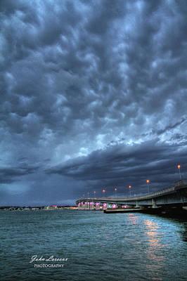 Photograph - Causeway Clouds by John Loreaux
