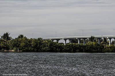 Photograph - Causeway Over The Indian River by Nance Larson